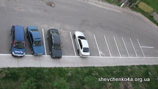 Разметка парковки